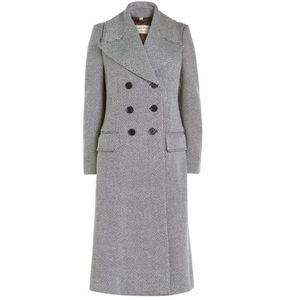 Burberry Aldermoor Herringbone Coat